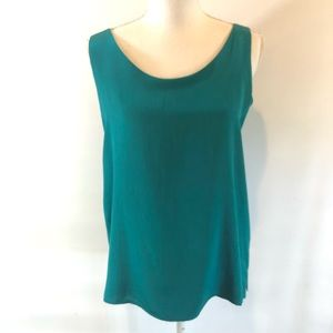 Classiques for Nordstrom 6 Silk Lined Tank Top